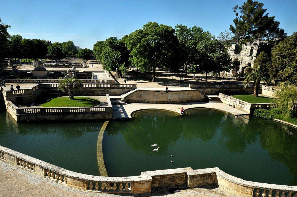 Le Jardin de la Fontaine Nîmes